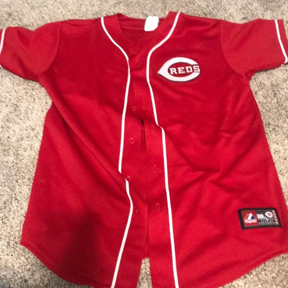 info for a2318 12b03 Cincinnati reds Joey votto jersey